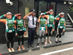 A very happy salute from Team Ireland at theTeam Racing World Championships in Thailand 2017