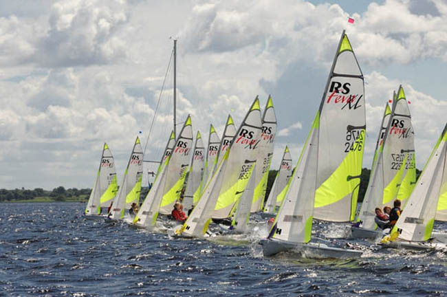 Irish RS Feva National Championships - Lough Ree Yacht Clubships 2008