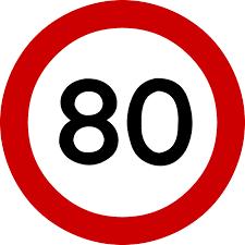 80kmph