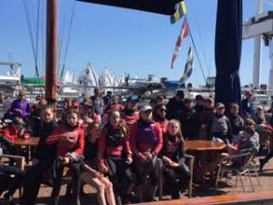 Main fleet briefing at the Leinsters 2016