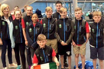 Europeans Team Arrive in Italy
