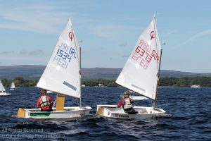On the water action @ Irish Nationals 2016. Photo by Gareth Craig (fotosail.com)