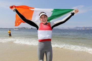 A shout out from Annalise Murphy for our Oppi Sailors!