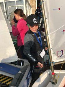 Harry Twomey @ International Optispring Regatta 2017