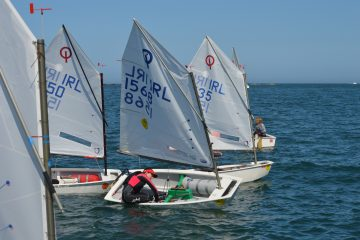Amazing conditions in Howth for the team racing VP trophy…