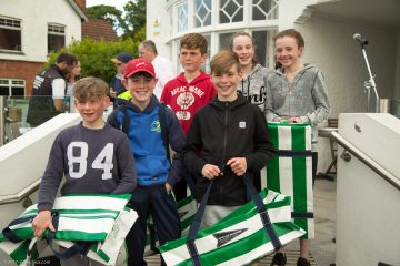 Team Gear presented to Europeans, IDT France and Under 12's Teams