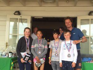 Worlds Team Finish 3rd at Dutch Optimist Team Racing