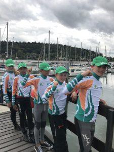 Worlds Team in their Rashr.com team gear