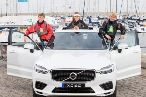 Pictured following the announced reactivation of the Irish Sailing Performance 'Volvo Junior Squad Programme' in the Royal Irish Yacht Club