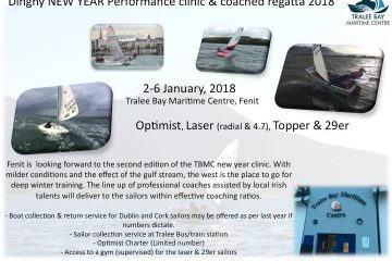Optimist New Year Clinic in Fenit