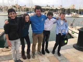 Great weekend for Irish Optimist Sailing in Palma, Mallorca