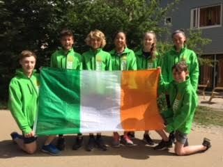 Team Ireland arrive in the Hague